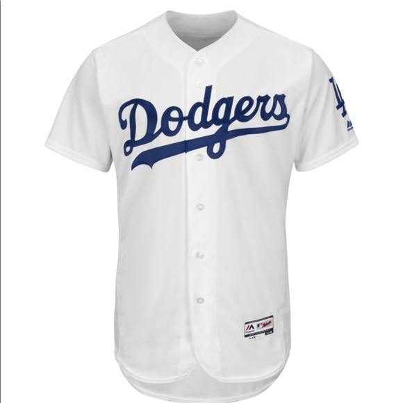 new arrival 81cfd 542a4 NWT LA Dodgers Flex Base Men's Jersey Size 48 NWT