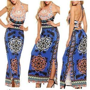 Dresses & Skirts - Beautiful halter maxi dress