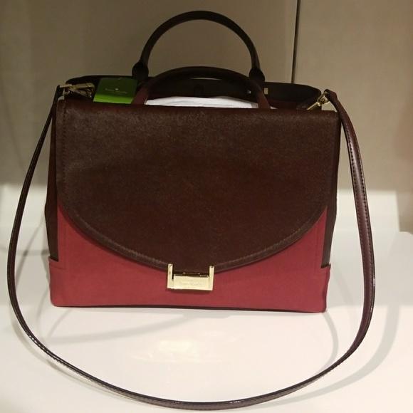kate spade Handbags - Kate Spade Calf Hair and Leather Taiden Bag