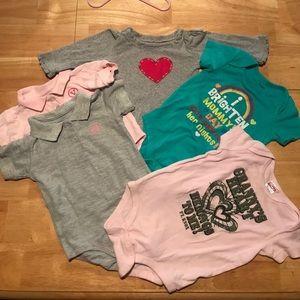Other - 12 month girl onesie bundle
