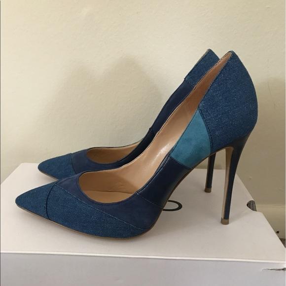 c59631e7098 NWTS brand new never worn Kessi by Aldo denim heel