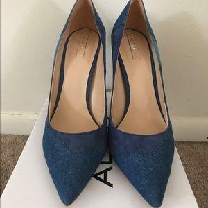 8cd3f970a84 Aldo Shoes - NWTS brand new never worn Kessi by Aldo denim heel