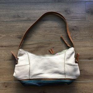 The sak KENDRA leather shoulder bag Colorblock