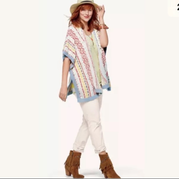 58% off CAbi Sweaters - CAbi 5001 Siesta Poncho size XS/Small from ...
