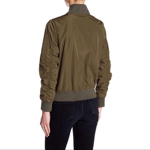 RACHEL Rachel Roy Jackets & Coats - NWT Rachel Roy green bomber jacket medium