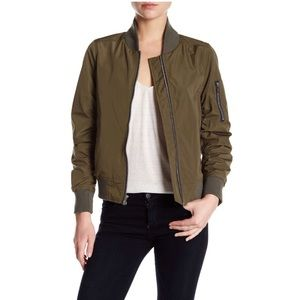 RACHEL Rachel Roy Jackets & Coats - NWT Rachel Roy green bomber jacket medium