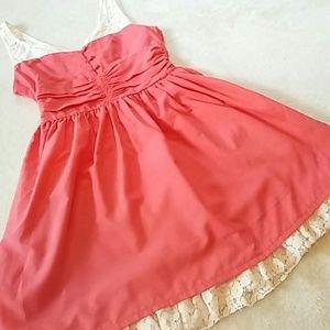 Ya Lace Trimmed Dress