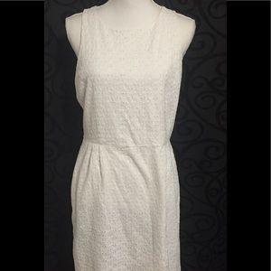 Last Chance***Old Navy White Eyelet Dress Size 10