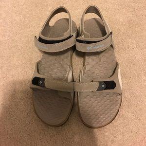 Man Columbia  sandals