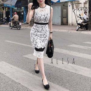 White Lace Dress US 6
