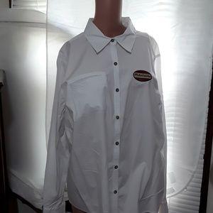 Tops - Harley Davidson Womans White Shirt