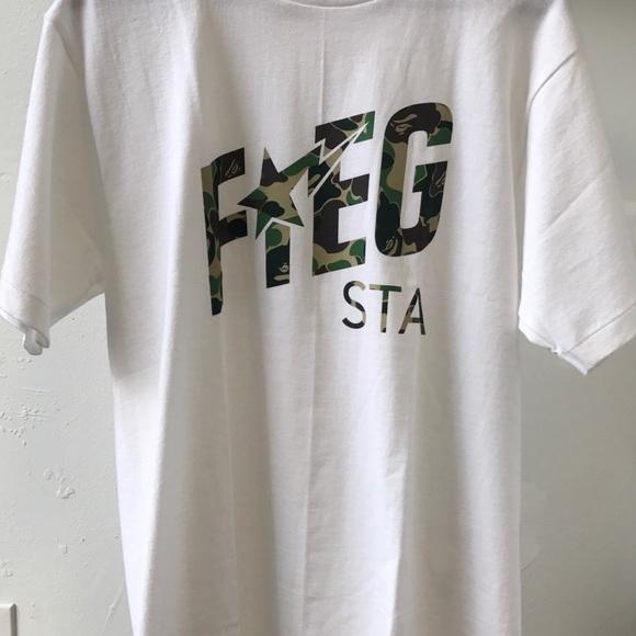 d0bb6aa7 BAPE Shirts | X Kith Fiegsta Tee Sold Out | Poshmark