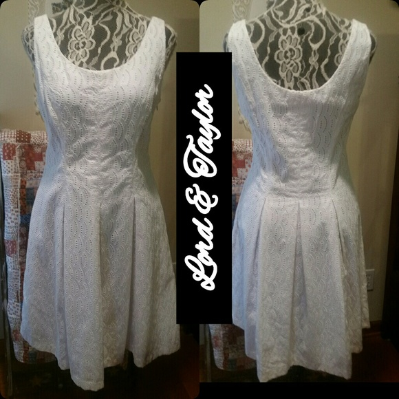 Lord Taylor Dresses Beautiful White Dress By Lord Taylor Poshmark