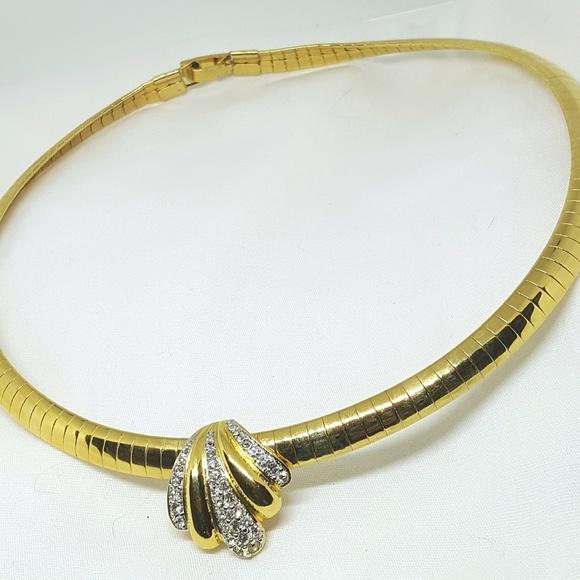 Joan rivers jewelry omega necklace pendant slide poshmark joan rivers omega necklace pendant slide aloadofball Images