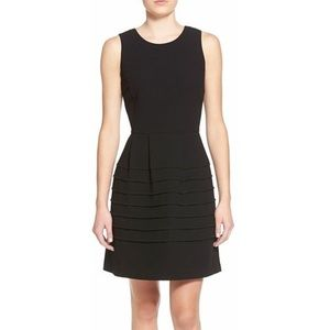 Madewell midnight fit and flare dress
