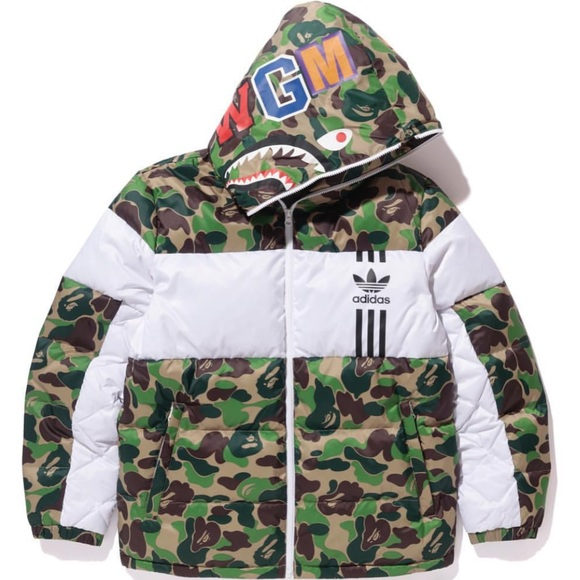 san francisco 15aa9 bfa38 BAPE X ADIDAS I96 DOWN. SOLD OUT! VERY LIMITED NWT