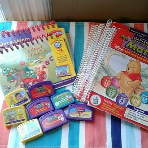 Bundle of LeapPad Leap Frog items