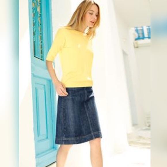 4f436bee21 Boden Dresses & Skirts - Boden denim skirt