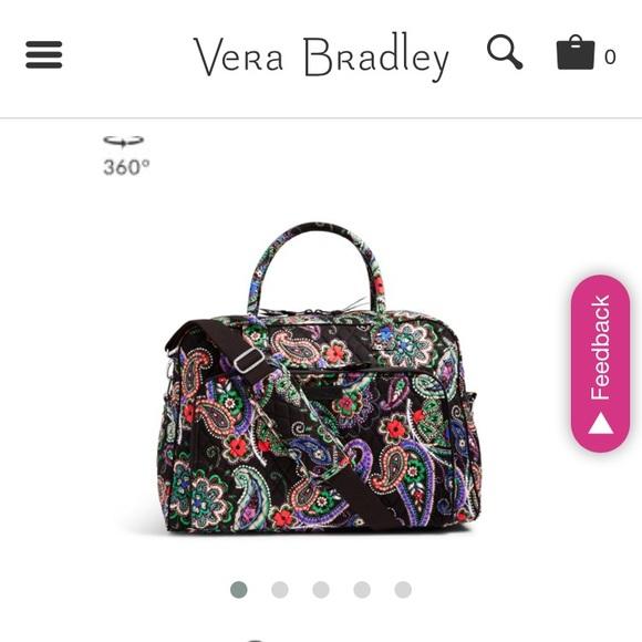 14094821c Bags | New Vera Bradley Lighten Up Weekender Bag | Poshmark