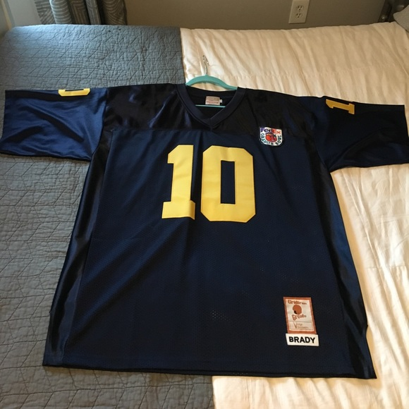 tom brady orange bowl jersey