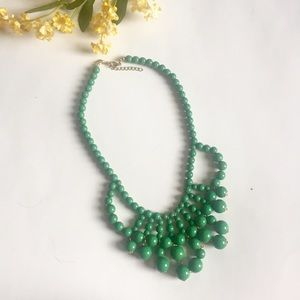 Jewelry - Green Bauble Necklace