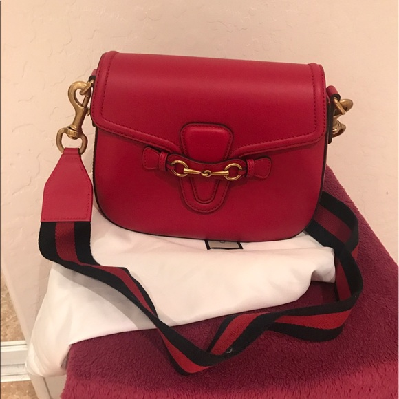 c91452c61e54 Gucci Bags | Hp Lady Web Medium Crossbody Bag | Poshmark
