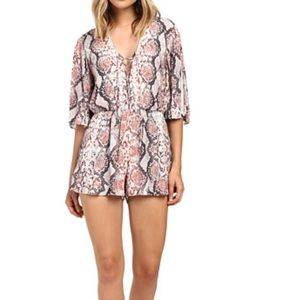 Brand new lovers & friends romper