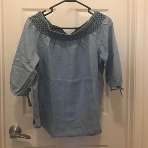 Cotton On Tops - Chambray top