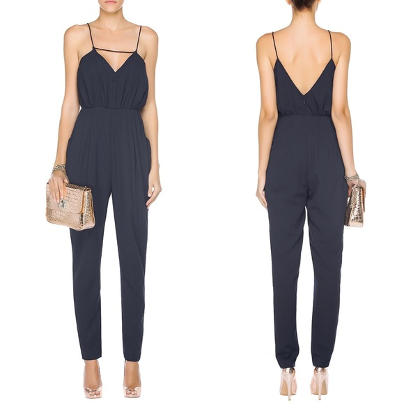 2de497cb51a6 Finders Keepers the someday jumpsuit navy
