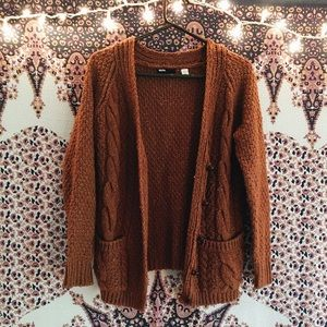 Urban Outfitters - 🌹SALE🌹urban outfitters orange/brown cardigan ...