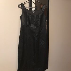 Banana Republic black dress LBD