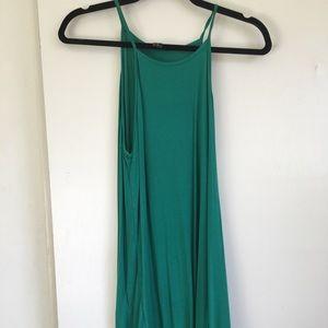 🌿 Kelly Green Mini Dress XS 🌿