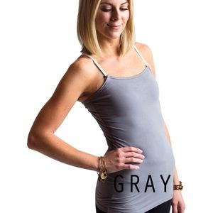SUNDAY SALE Gray undercover mama nursing  top