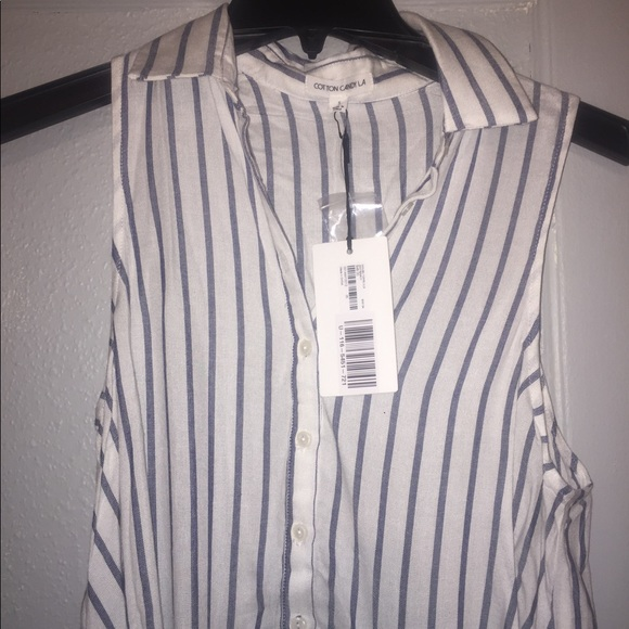 ff2b5e6f8f25f Cotton Candy LA  Forever 21 striped shirt dress