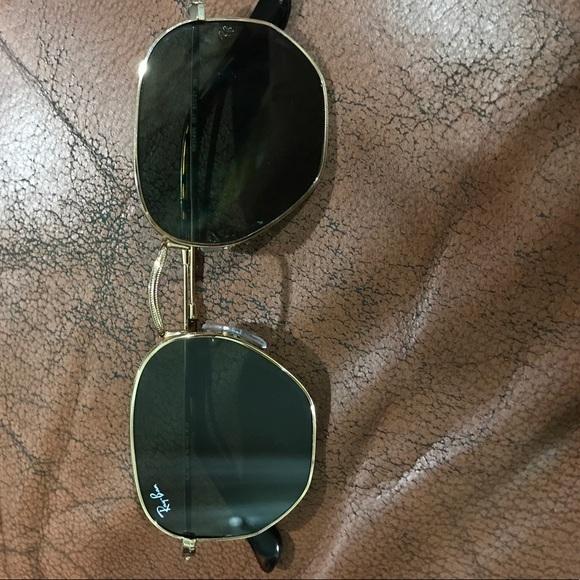 880c9b865ab21 Ray Ban hexagonal flat lens sunglasses