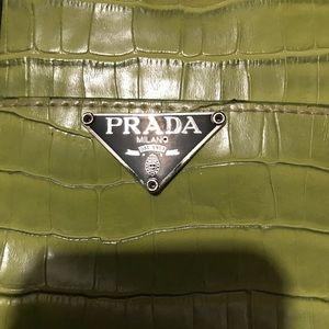 25e9545bc31a Prada Bags   Lime Green Vintage Handbag   Poshmark