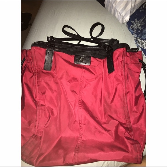 95be11deabef Burberry Handbags - Burberry Buckleigh Military Red Packable Tote Bag