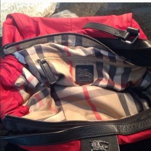 9b06a5860c2d Burberry Bags - Burberry Buckleigh Military Red Packable Tote Bag