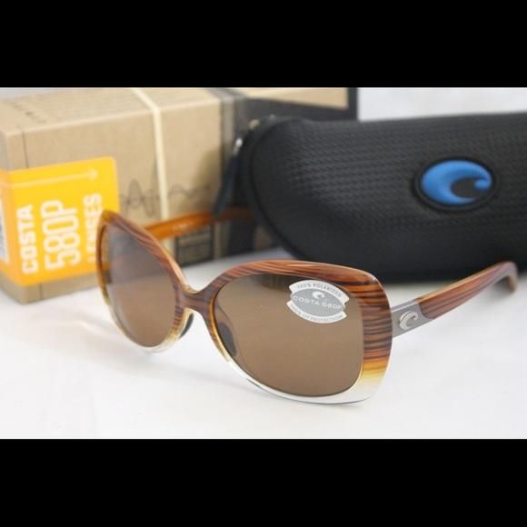 a2ea2a12976 New Costa Del Mar Sea Fan Polarized Sunglasses 580