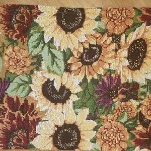 Other - Sunflower tapestry table runner