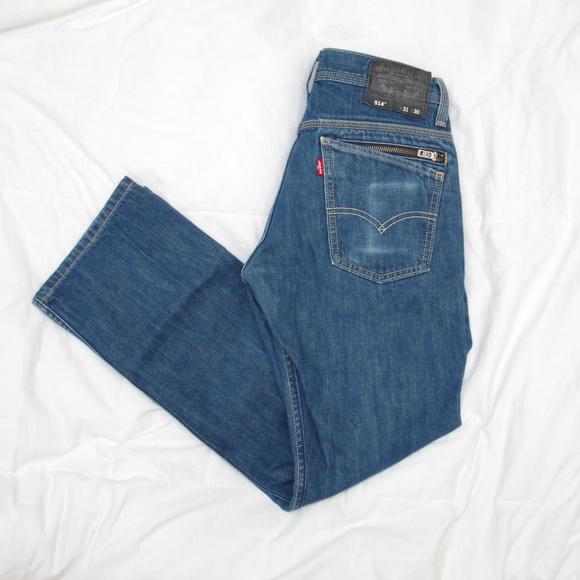2c960ae8 Levi's Jeans | Levis 514 Slim Straight Blue Skinny Zipper | Poshmark