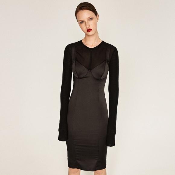88f17c1ec76 Zara corset dress. M 597d56963c6f9fd26309daf5