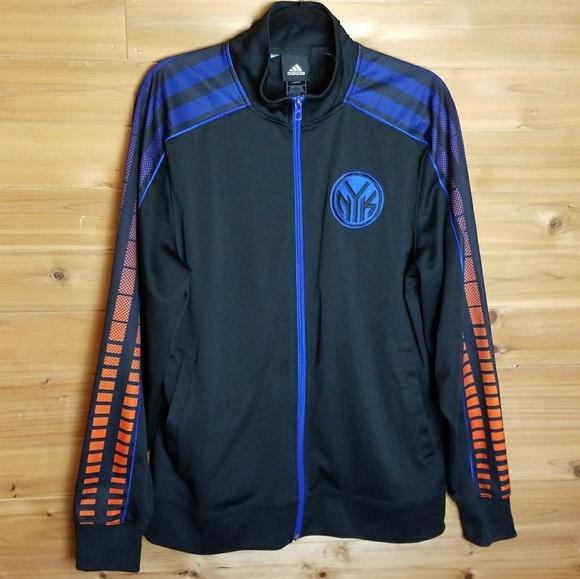 2c5af5e6b Adidas New York Knicks NBA Track Jacket