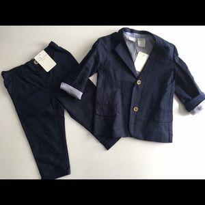 Kardashian linen blazer and pants