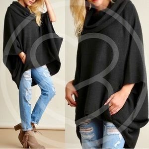 KAYCEE sweater - D. CHARCOAL