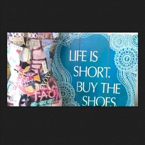 LIFE is SHORT! BUY the SHOES!👠👡👢👞👟👢👡👠👞👟