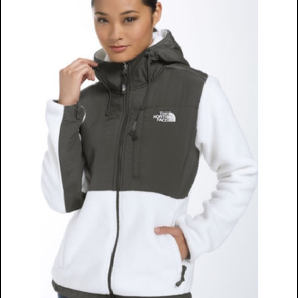 d0af4dbce Women's White Denali Jacket with Hood