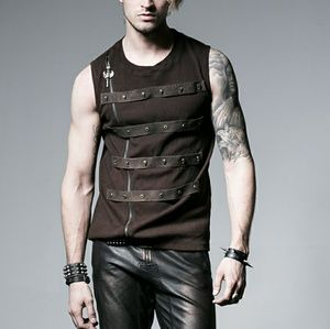 Copper Brown Industrial Wasteland Apocalypse Vest