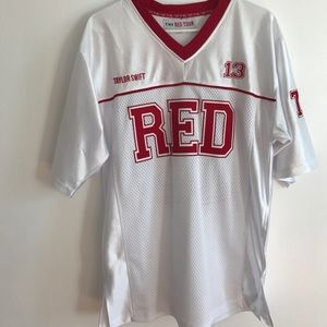 Tops - Taylor Swift Red Tour Jersey
