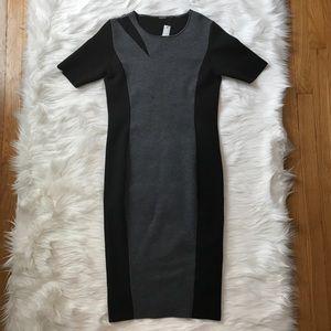 NWT Eli Tahari Caroline Sweater Dress Sz Med